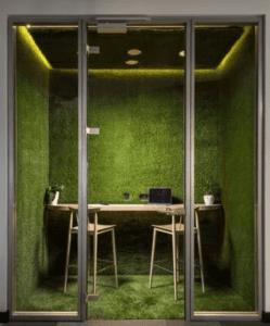 Kunstgras kantoor